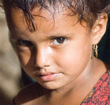 Girl in Yemen