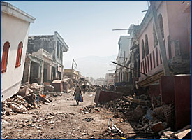 Earthquake Damaged Buildings